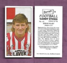 Sheffield United Steve Foley 47